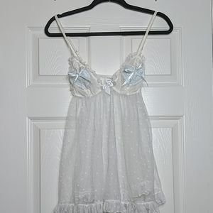 Victoria's Secret I Do Bridal Babydoll Lingerie